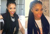 Box braids / Hair