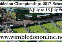 Wimbledon 2017 Fixtures / http://www.wimbledononline.net/Article/1271/2017-Wimbledon-Schedule-/ The Wimbledon is a Grand Slam tennis tournament, which will be taking place from 3rd July to 16th July 2017