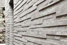 Concrete board wall