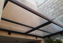 Techo balcón
