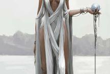 Caracter inspiration goddess