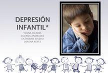 Depresión Infantil / Para conocer más acerca de la depresión infantil, como prevenir, síntomas, etcétera.