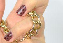 Nails Art en carreaux