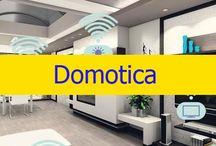 Domotica / Gracias a los nuevos avances hoy en día puedes controlar todo tu hogar desde un Smartphone para rentabilizar y sacar más partido a todos tus electrodomésticos, incluyendo luces aparatos de sonido, televisores, y un sinfín de equipos.