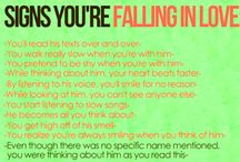 Falling in love with love <3