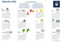 Naptár 2016 - Kalender 2016