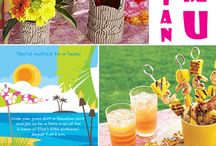 Hawaii\tiki/luau party / Thema party - idéer
