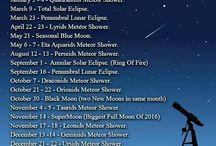 Stargazing & sky watching