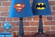 Superhero home decoration