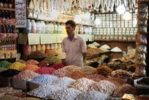 spice merchants and shops
