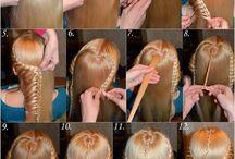 Hair ideas / Hår og inspirasjon