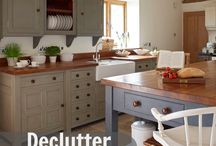 Organizing / ways to organize, declutter the home and more.