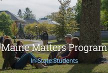 Scholarships / Scholarship opportunity at the University of Maine
