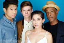 thomas sangster, ki hong lee and kaya scodelario