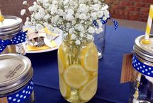 Yellow & Blue Decorations