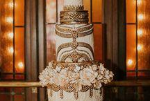 Gatsby Glamour / Inspiration for your Gatsby inspired, elegant wedding
