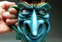 Cups/mugs/ceramic/sculpting