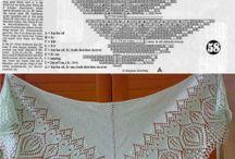 Вязание: Шали, шарфики