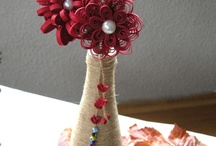 Paper & Sewing flowers