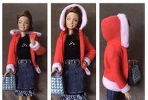 Barbie-Kleidung selber nähen.