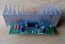 Rakitan Power Amplifier Stereo DC12V TDA7266SA 2x40W