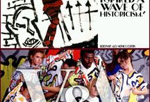 The 1980s; Club to catwalk / Visit to the V&A museum London where the exhibition club to catwalk took place and re-ignited 1980s fabric, prints and styles