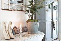 Jul - fransk/nordisk landstil
