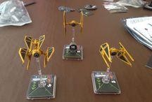 X-wing miniaturs game