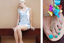 Collection SS13 / BonbonSandals! All the elements of the nature were inspired us and we made a collection that everyone could find something to like - something to wear! Enjoy!