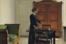 Hammershøi, Vilhelm (1864-1916, Danish painter)