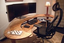 Curved desk designs