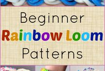 Rainbow loom / Some kewl patterns and designs to make on rainbow loom