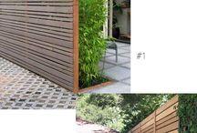 my wood fences