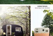 cute vintage campers / by Flea Market Trixie
