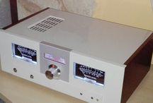 Aphyle DIY erősítő / Audiofil stereo erősítő egyedi készítésű, megvásárolható.