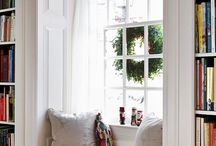 Window Seats & Bookshelves