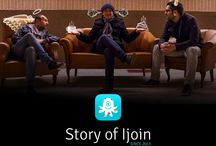 IjoinApp - founders / Almost a year ago, 3 enthusiasts with the same vision happened to meet. They wanted to create something pleasant, interesting and mainly useful for people.