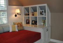 Brendan's teen cave and bedroom / by Tiffany Mattison