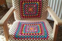 Stuhl behäkeln / Stühle Hocker behäkeln