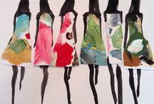 D. Drawbertson / Miyuki Ohashi / Katie Rogers / Bridget Davies....... / Illustrateurs Créateurs : Autour de la Mode - Dessins- Collages - Presse - Marques, Couture, Maquillage, Parfums.....