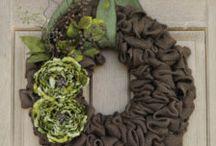 Wreath Ideas / by Tabayia Kopsa