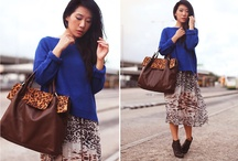 Royal Blue and Leopard