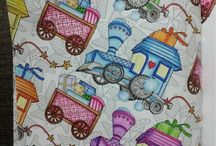 The Present by Daria Song..Colouring Book