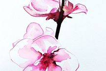 Orchidee aquarel