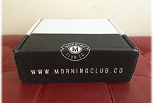 """Morning Club Co. / About: """"The grooming products men know and use. Delivered when you need them."""" For full subscription box reviews, visit http://musthaveboxes.com."""