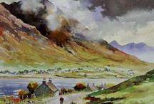 Scottish landscape painting