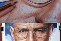 Art - Colored Pencils Art and Tutorials