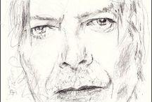 Portraits David Bowie / my Hero