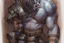 """Орки / На этой доске существа из скандинавской мифологии """"Орки"""" так хорошо нам известные из романов Толкиена и популярной игры WOW-World of Warcraft а также другие пины про орков"""