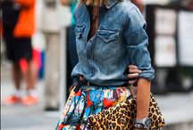 how to wear: #denim shirt
